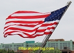 USA FLAG - Nylon- Embroidered Stars-20x38ft